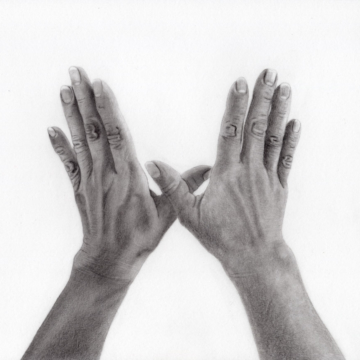 drawing of hands