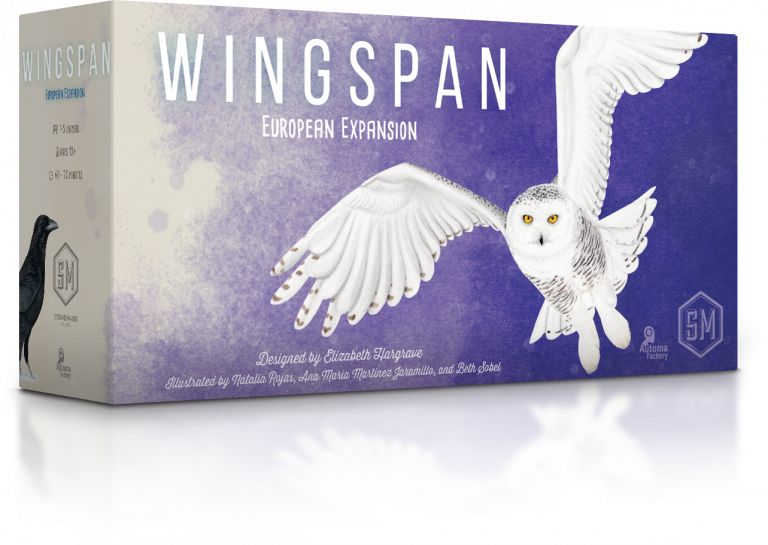 Wingspan European Expansion 3D box